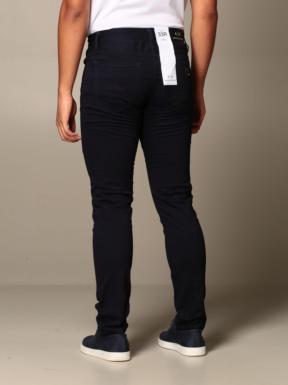 Pants Armani Exchange: Pants men Armani Exchange blue 3