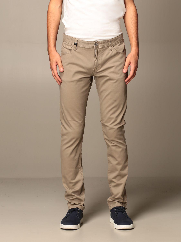 Trousers Armani Exchange: Trousers men Armani Exchange beige 1