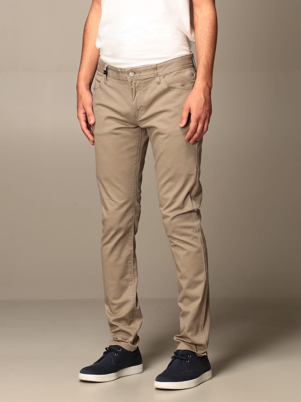 Trousers Armani Exchange: Trousers men Armani Exchange beige 3