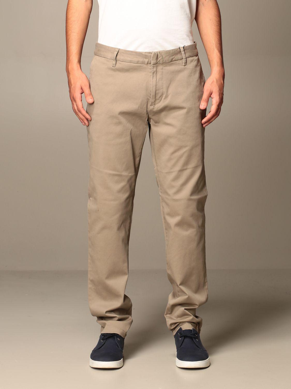 Pantalone Armani Exchange: Pantalone Armani Exchange in cotone beige 1