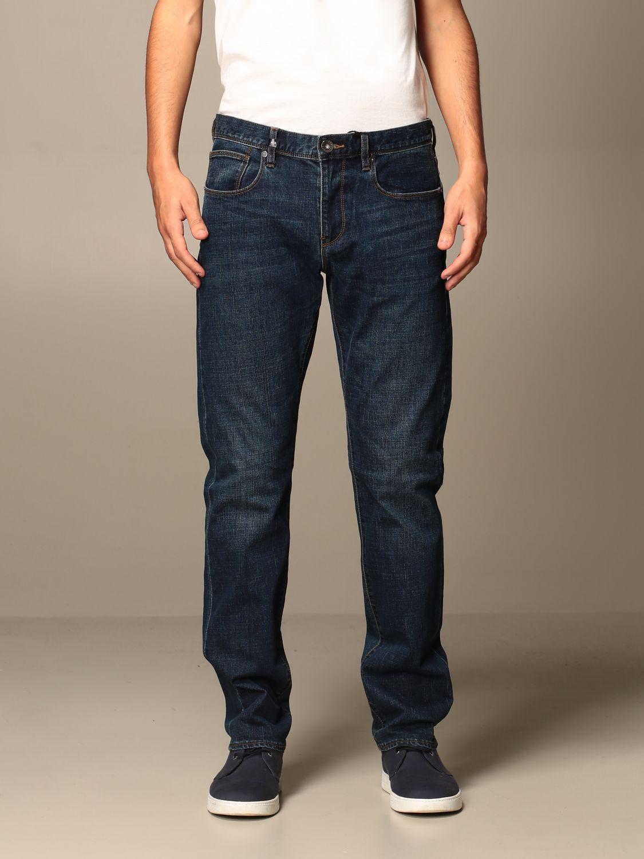 Jeans Armani Exchange: Jeans Armani Exchange in denim stretch blue 1