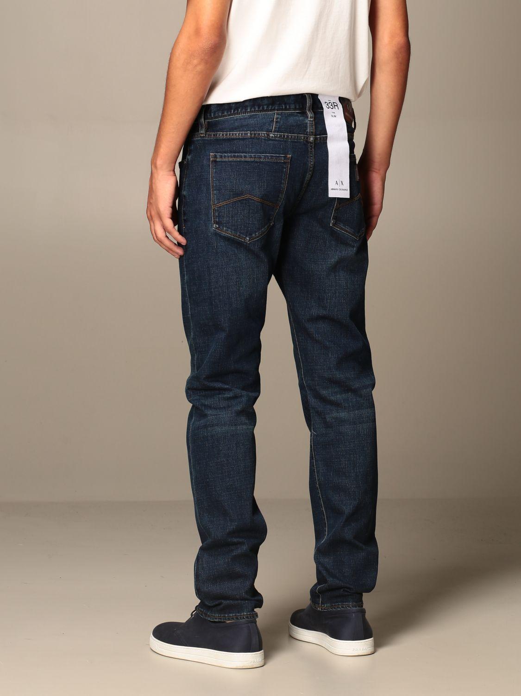 Jeans Armani Exchange: Jeans Armani Exchange in denim stretch blue 2