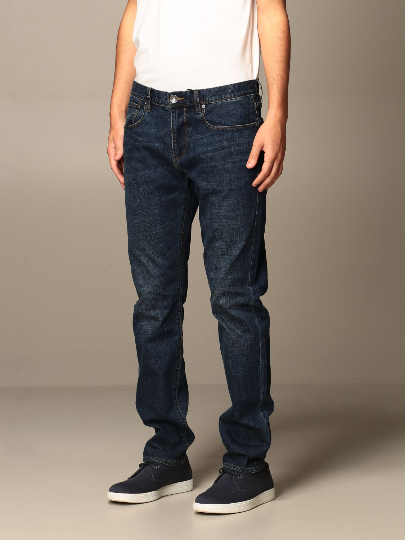 Jeans Armani Exchange: Jeans Armani Exchange in denim stretch blue 3