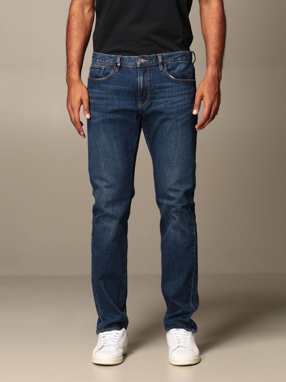 Jeans Armani Exchange: Jeans homme Armani Exchange bleu 1