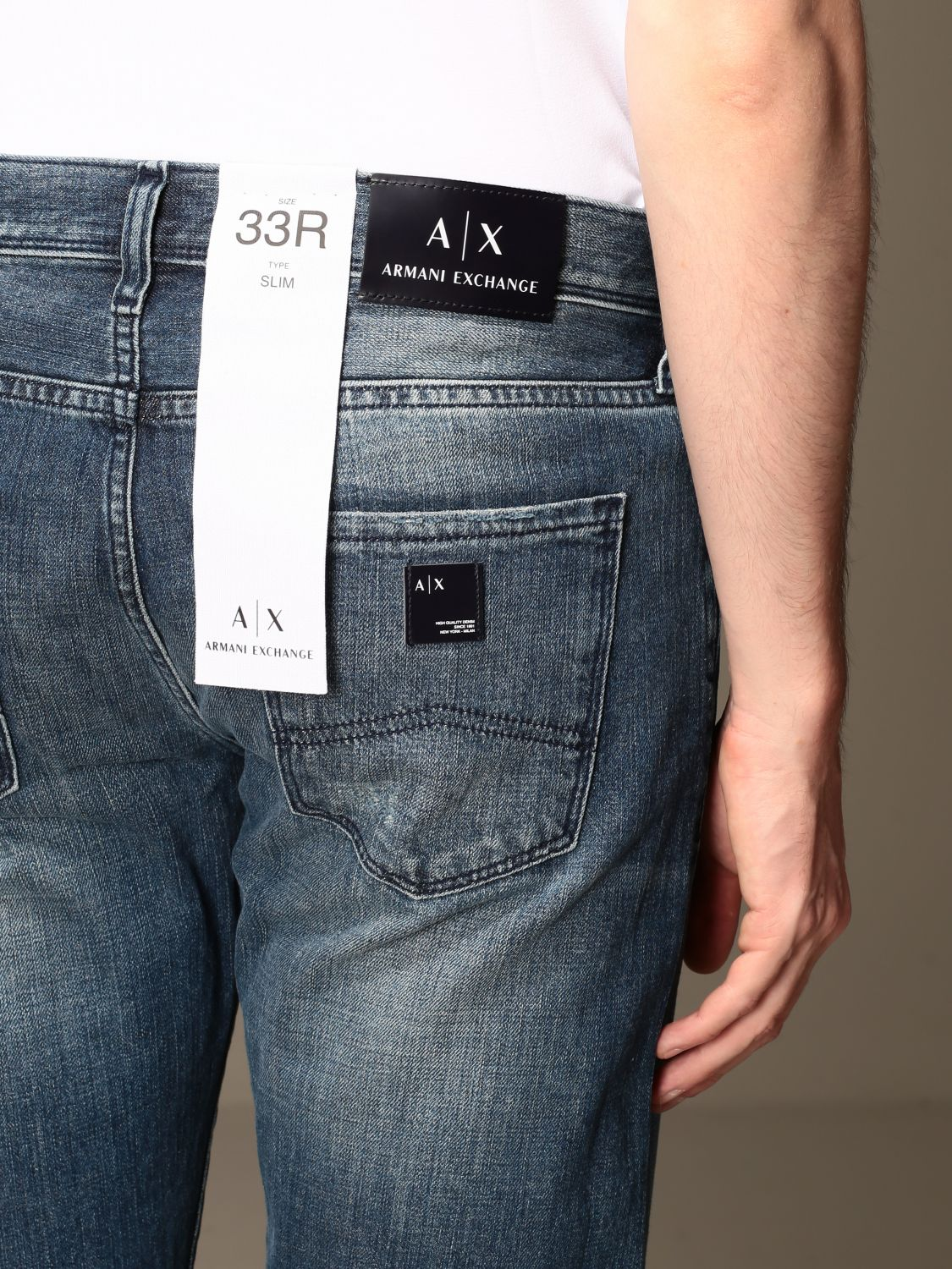 Jeans Armani Exchange: Jeans men Armani Exchange denim 3