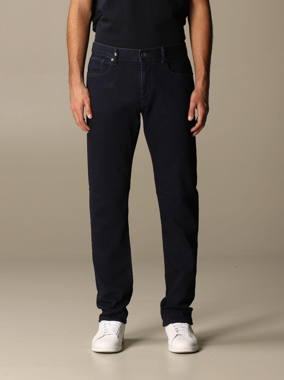 Jeans Armani Exchange: Jeans homme Armani Exchange bleu marine 1