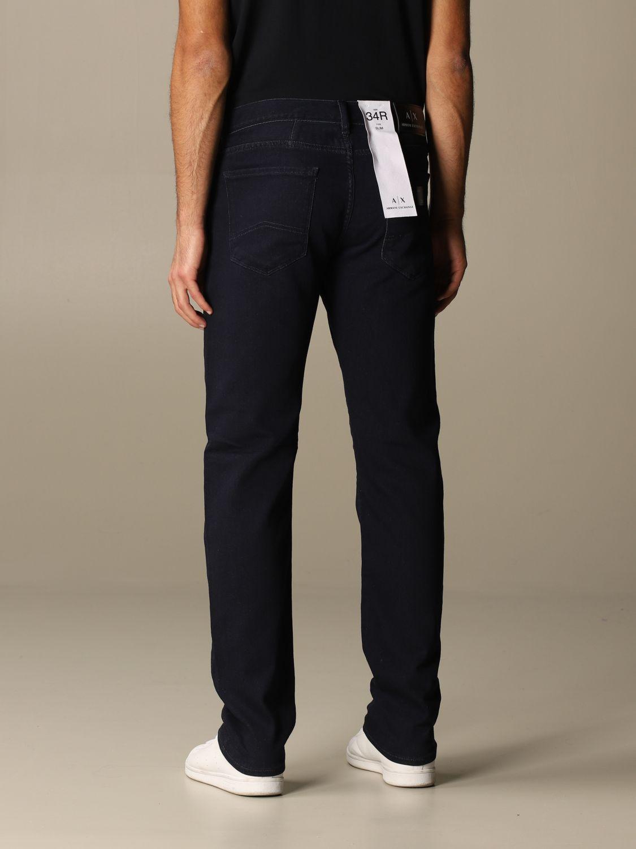Jeans Armani Exchange: Jeans homme Armani Exchange bleu marine 2