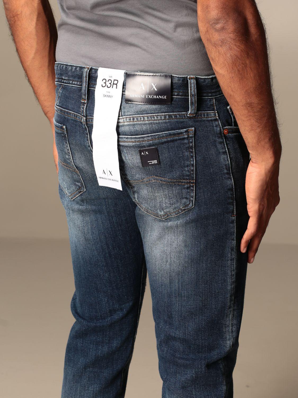 Jeans Armani Exchange: Armani Exchange jeans in skinny fit denim denim 3