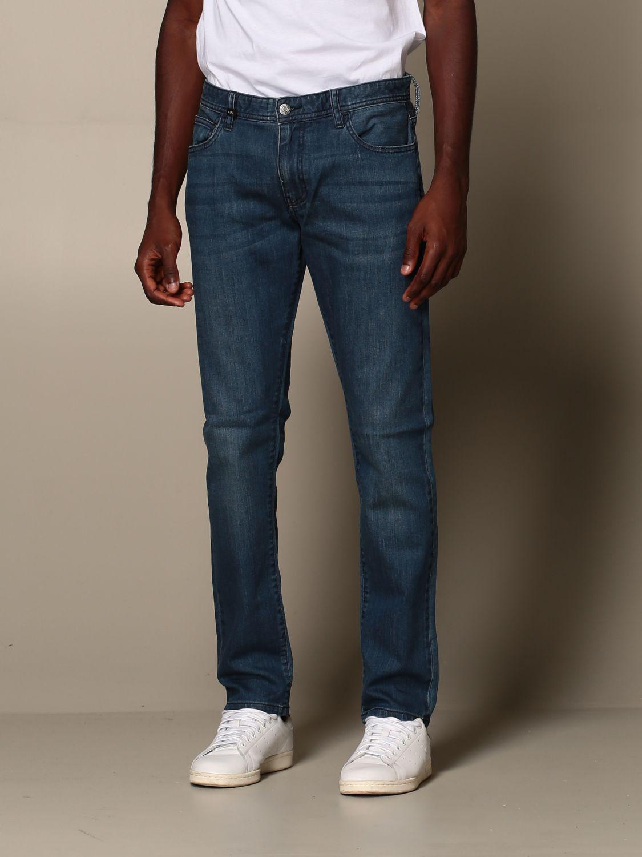 Jeans Armani Exchange: Jeans men Armani Exchange blue 4