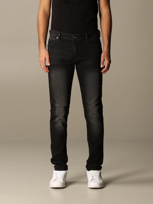 Jeans Armani Exchange: Jeans homme Armani Exchange noir 1