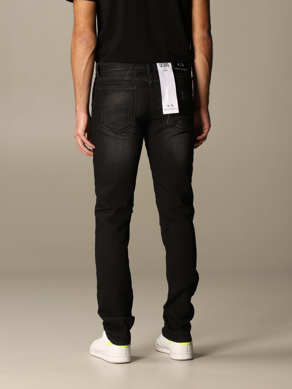 Jeans Armani Exchange: Jeans homme Armani Exchange noir 2