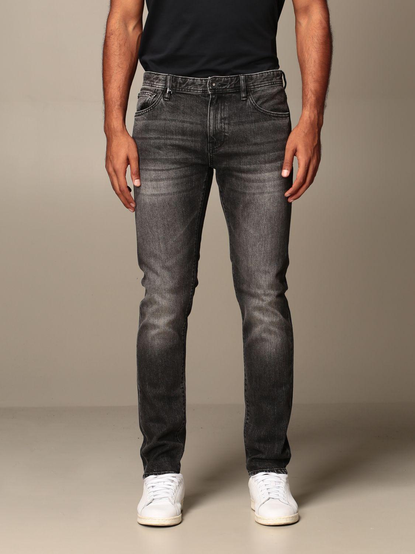 Jeans Armani Exchange: Armani Exchange jeans in used stretch denim grey 1