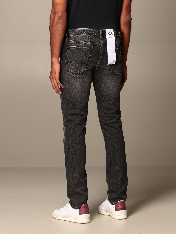 Jeans Armani Exchange: Armani Exchange jeans in used stretch denim grey 2