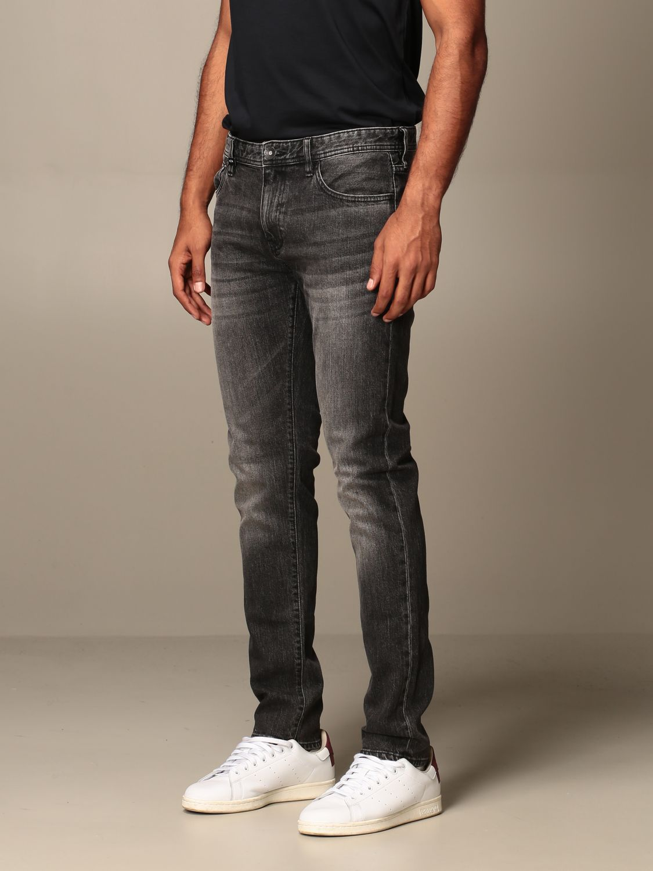 Jeans Armani Exchange: Armani Exchange jeans in used stretch denim grey 3