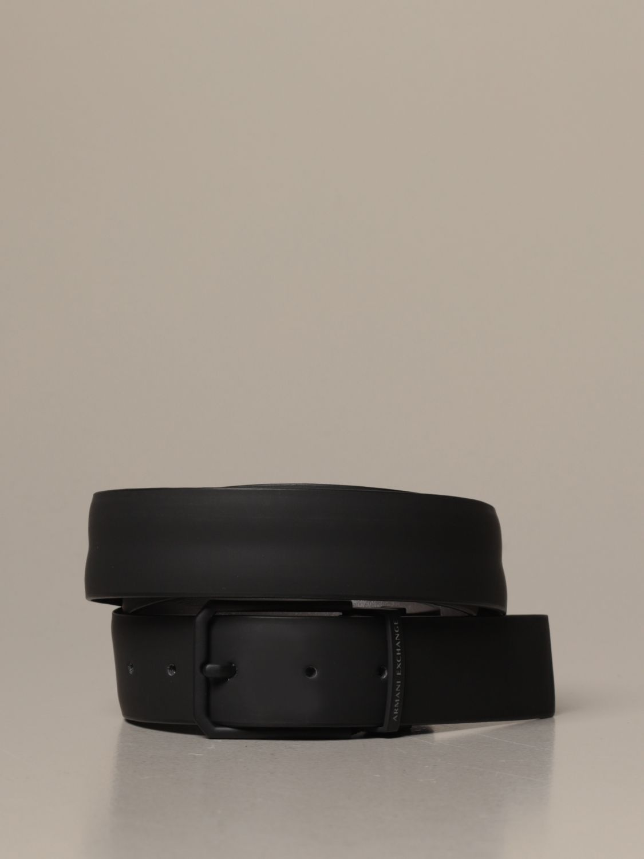 Belt Armani Exchange: Armani Exchange belt in reversible leather black 1