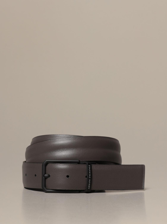 Belt Armani Exchange: Armani Exchange belt in reversible leather black 2