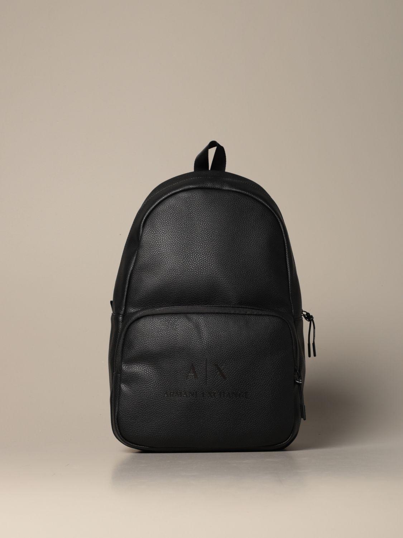 Backpack Armani Exchange: Bags men Armani Exchange black 1