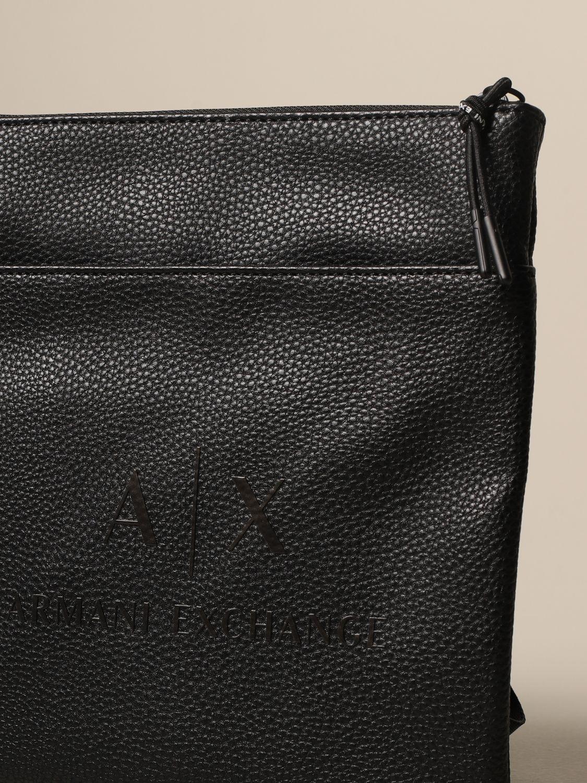 Shoulder bag Armani Exchange: Bags men Armani Exchange black 3