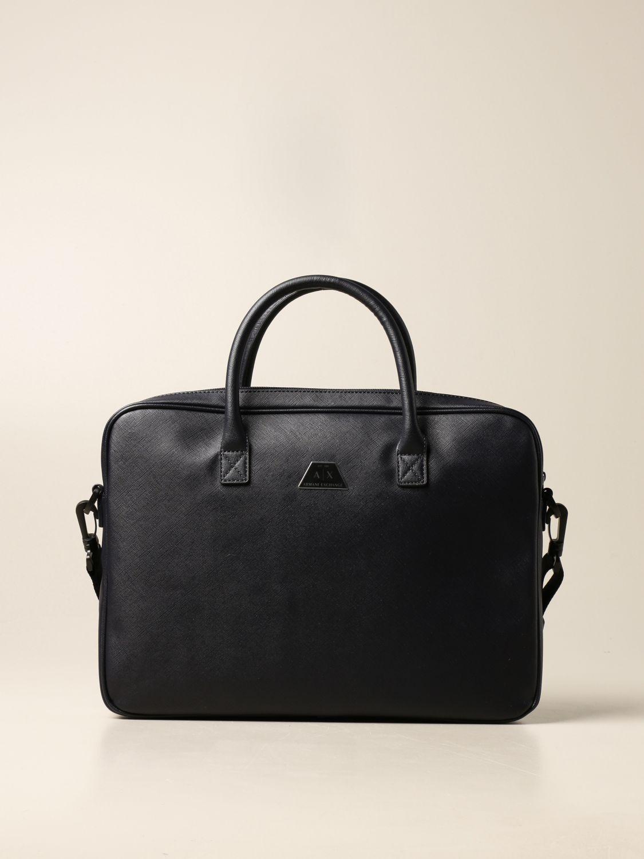 Shoulder bag Armani Exchange: Bags men Armani Exchange navy 1