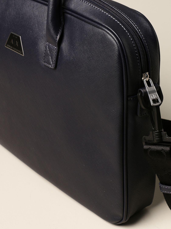 Shoulder bag Armani Exchange: Bags men Armani Exchange navy 3
