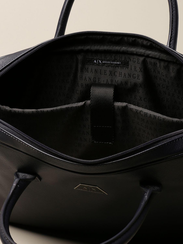 Shoulder bag Armani Exchange: Bags men Armani Exchange navy 4