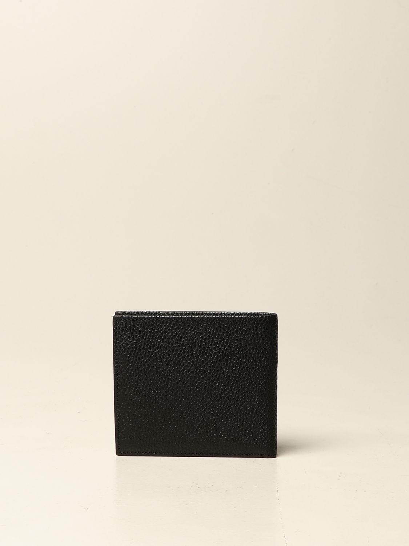 Portafoglio Armani Exchange: Portafoglio Armani Exchange in pelle martellata nero 3