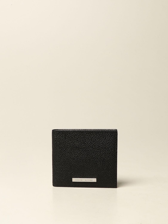 Portefeuille Armani Exchange: Portefeuille homme Armani Exchange noir 1