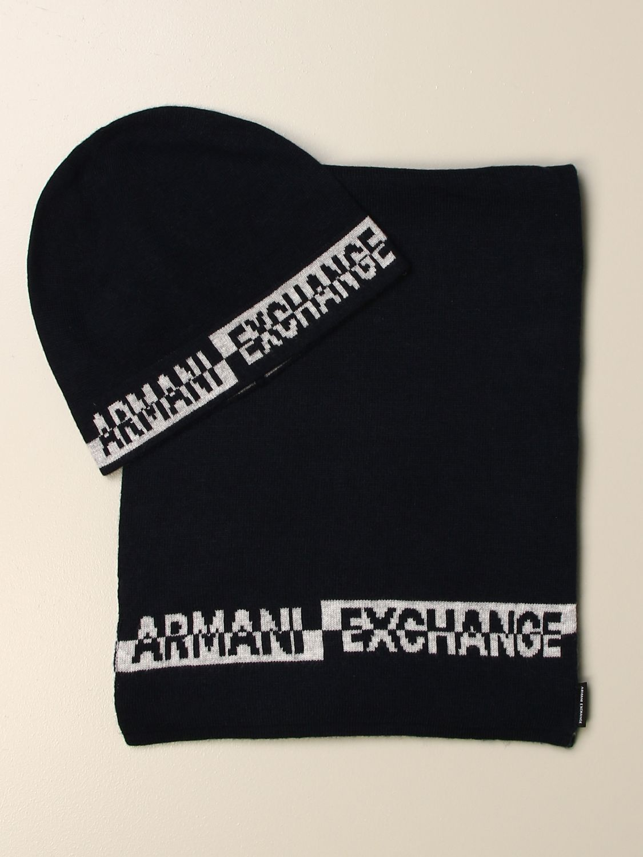 Chapeau Armani Exchange: Chapeau homme Armani Exchange bleu 1