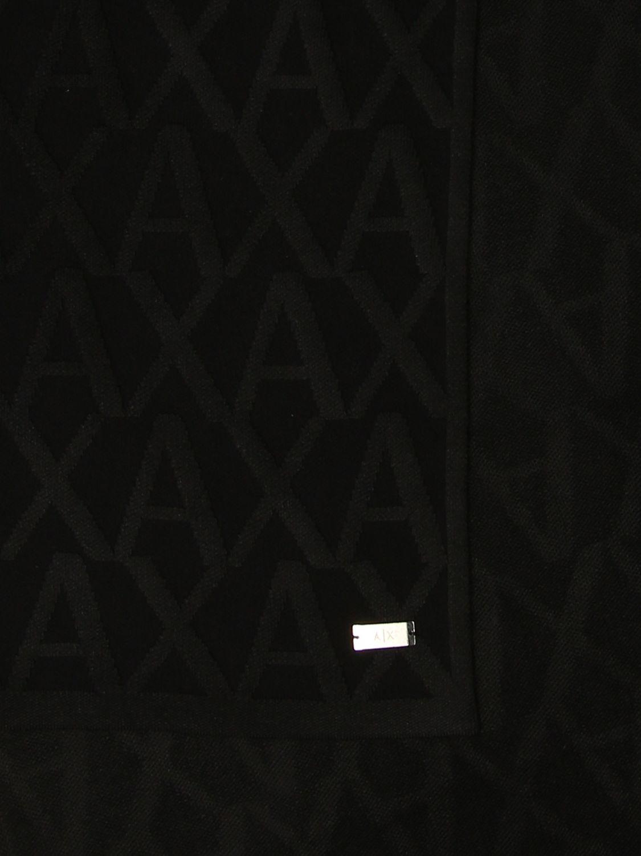 Scarf Armani Exchange: Scarf men Armani Exchange black 3