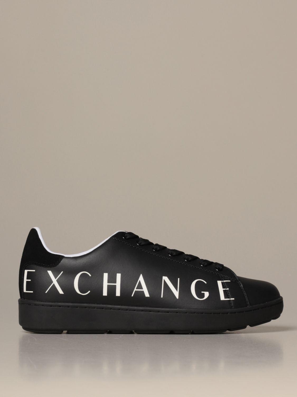 Sneakers Armani Exchange: Schuhe herren Armani Exchange schwarz 1