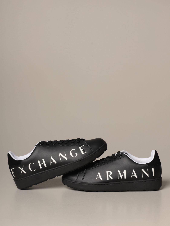 Sneakers Armani Exchange: Schuhe herren Armani Exchange schwarz 4