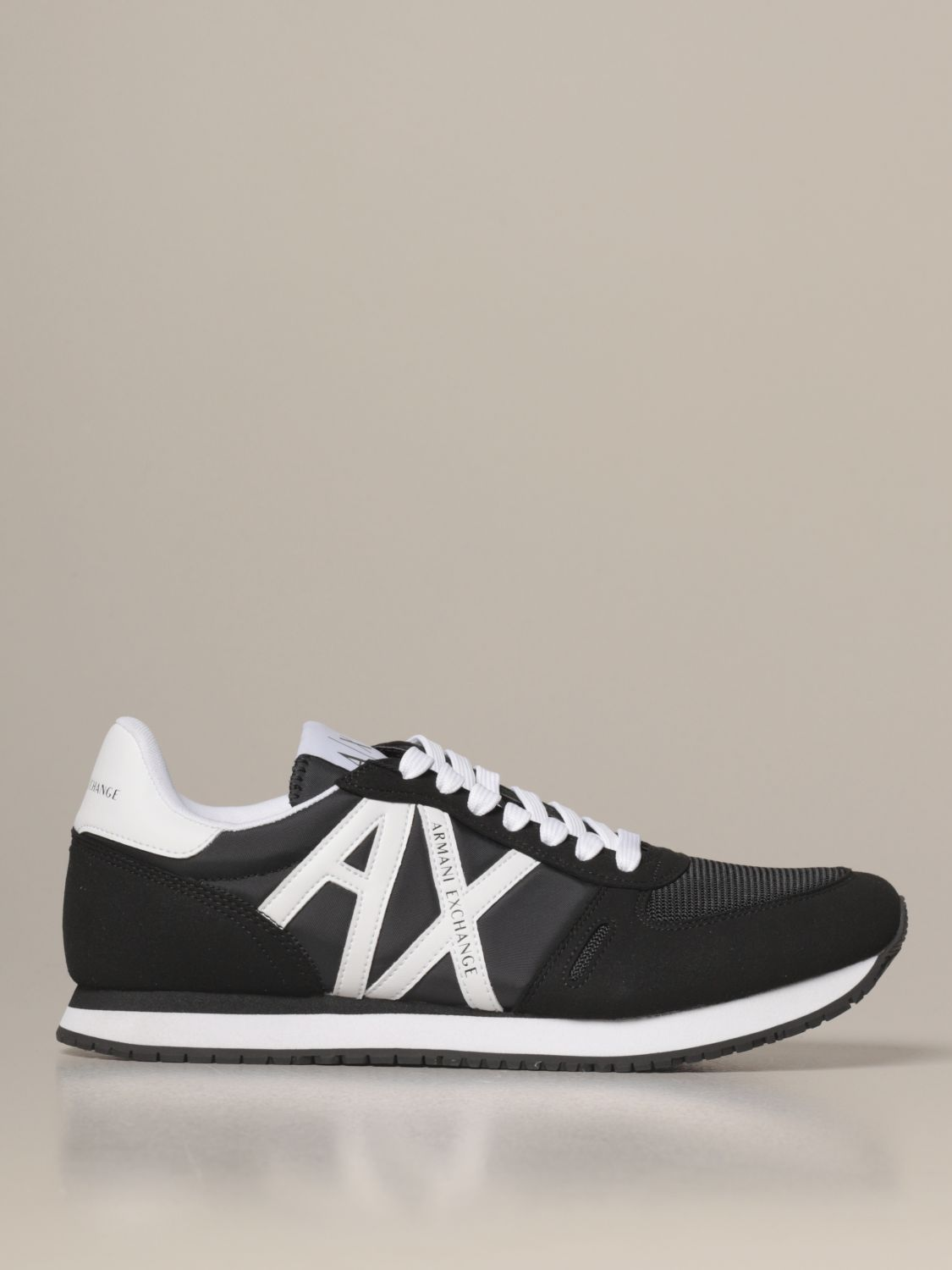 Sneakers Armani Exchange: Shoes men Armani Exchange black 1