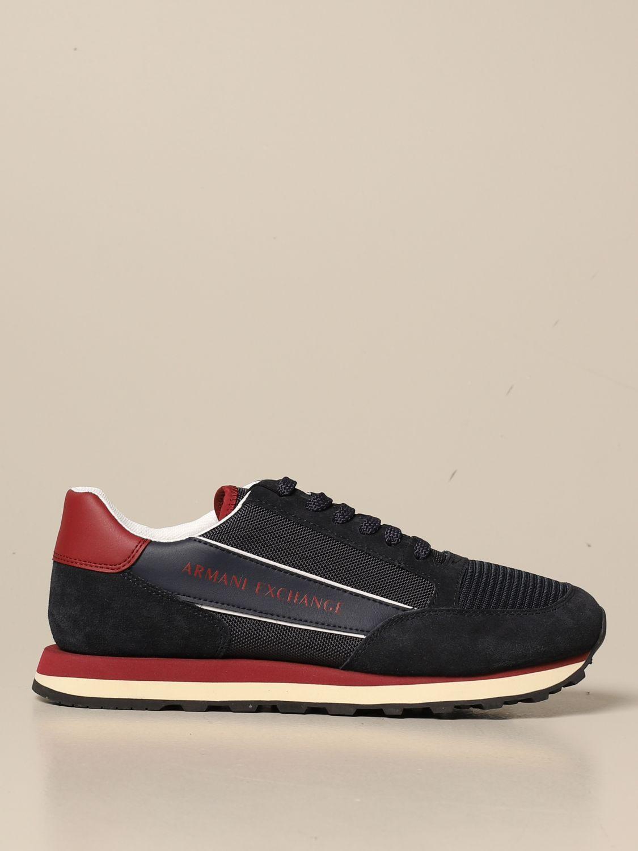 Спортивная обувь Armani Exchange: Обувь Мужское Armani Exchange синий 1