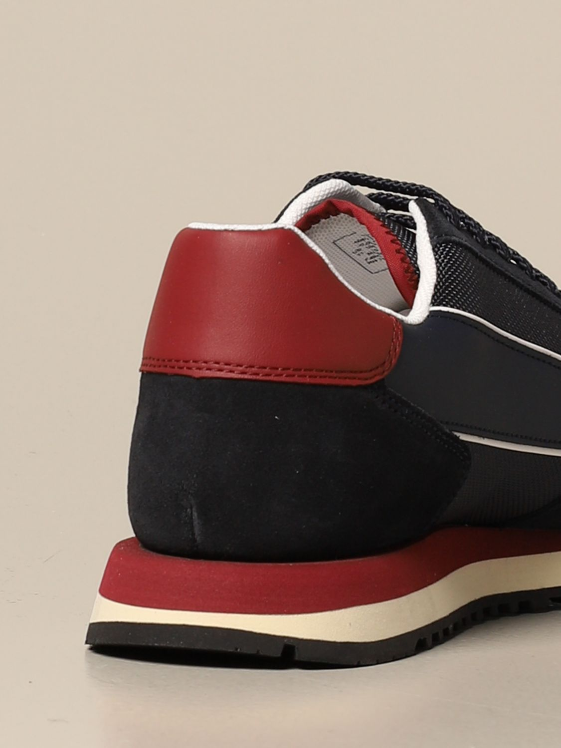 Sneakers Armani Exchange: Armani Exchange sneakers in suede and fabric blue 3