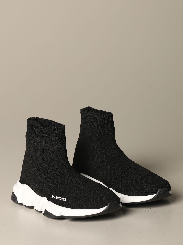 鞋履 Balenciaga: 鞋履 儿童 Balenciaga 黑色 2