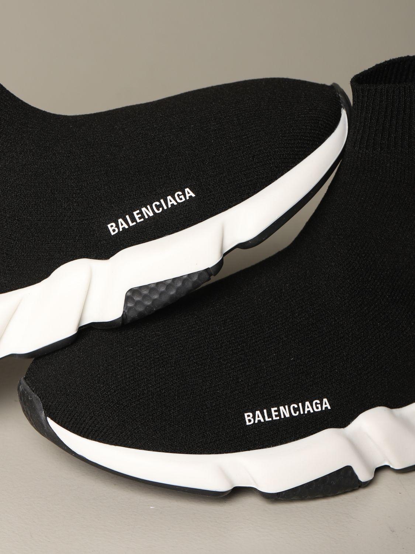 鞋履 Balenciaga: 鞋履 儿童 Balenciaga 黑色 4