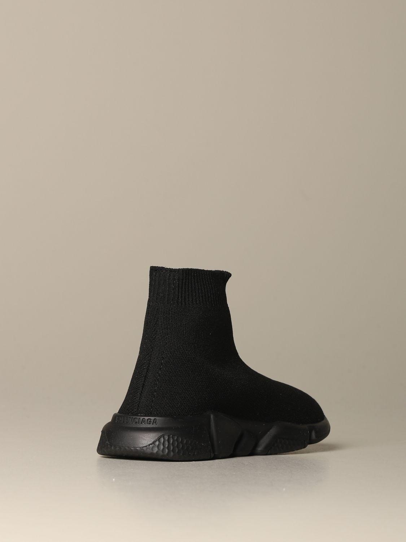Scarpe Balenciaga: Sneakers Speed Balenciaga a calza con suola monocolore nero 3