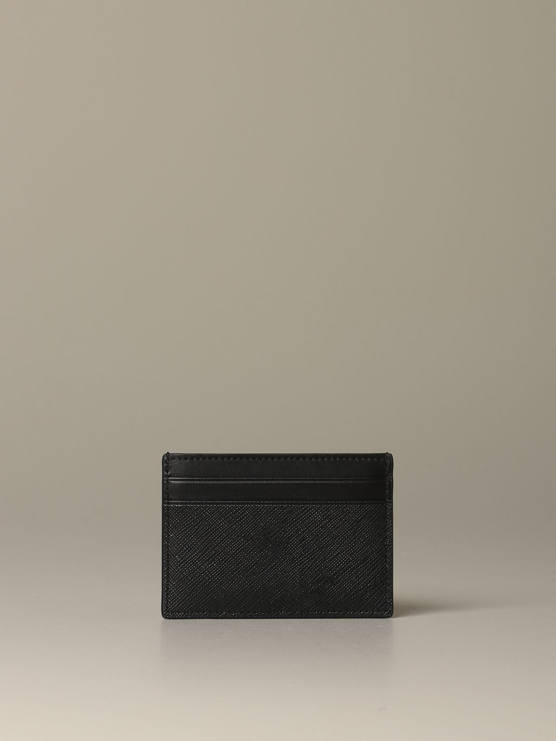 Wallet Bally: Bhar.of Bally credit card holder in coated canvas with trainspotting red 1