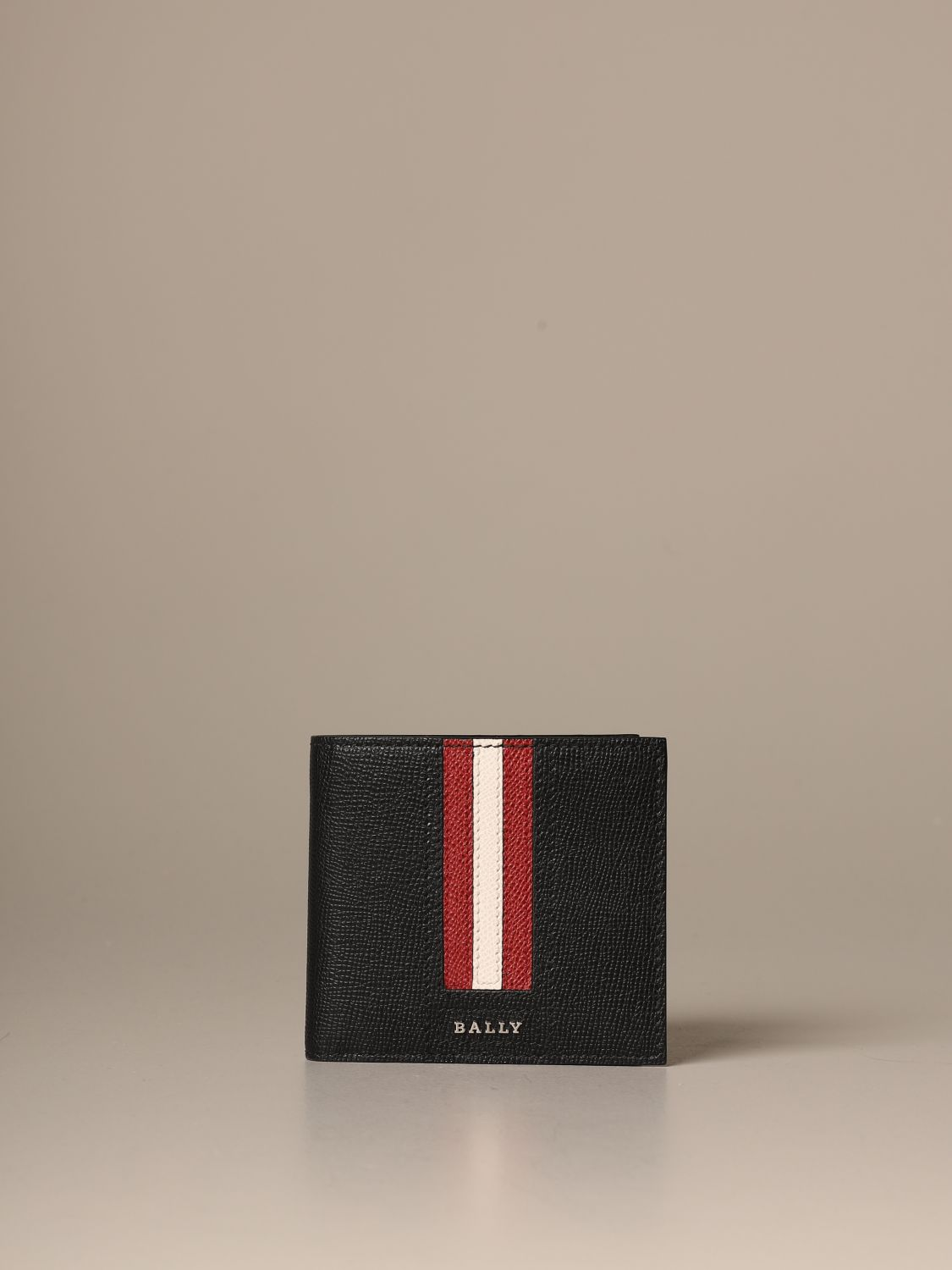 Wallet Bally: Trasai.Lt Bally wallet in leather with trainspotting band blue 1