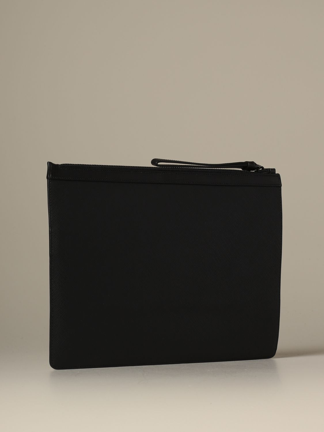 Briefcase Bally: Bollis Bally pouch in coated canvas with trainspotting black 2