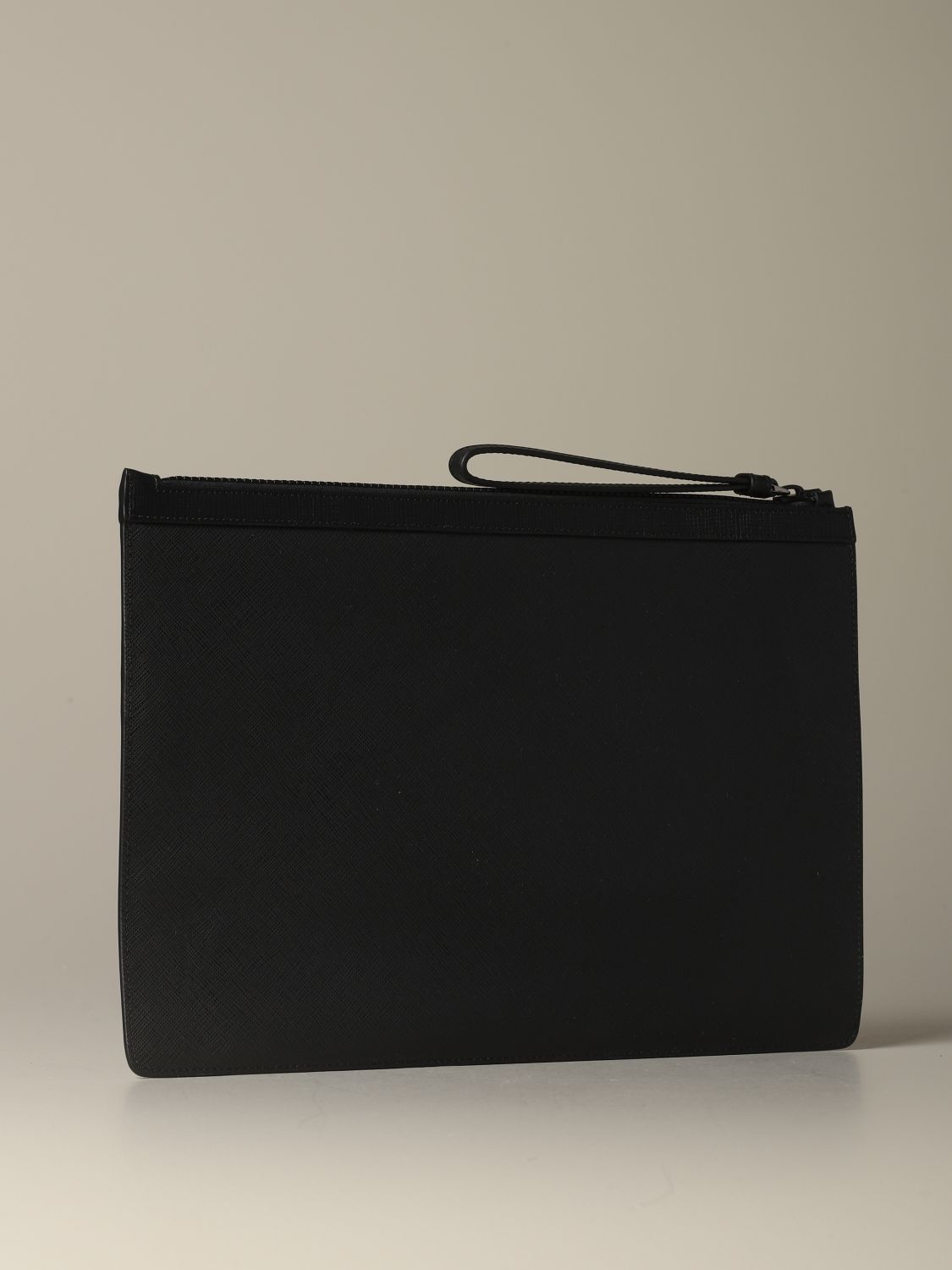 Briefcase Bally: Bollis Bally pouch in coated canvas with trainspotting red 2