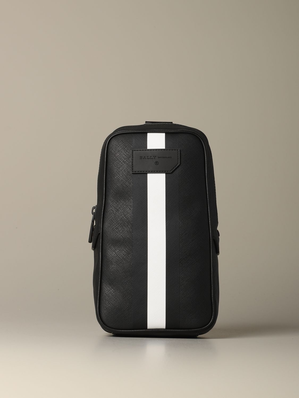 Shoulder bag Bally: Bags men Bally black 1