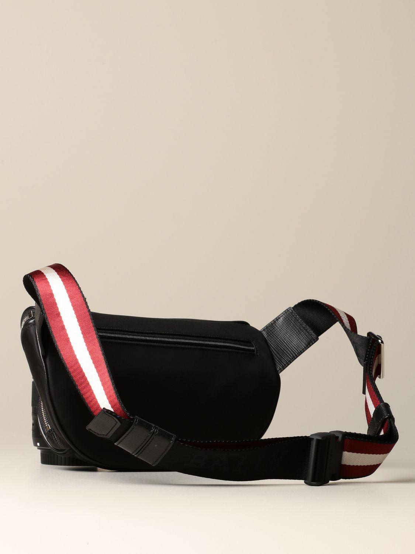 Belt bag Bally: Finlei Bally nylon pouch with trainspotting shoulder strap black 2