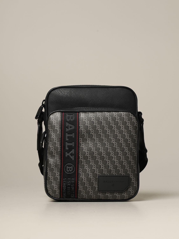 Shoulder bag Bally: Bags men Bally brown 1