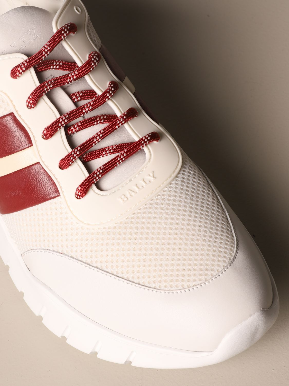 Trainers Bally: Shoes men Bally white 4