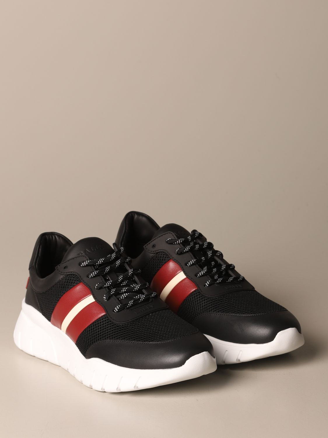Sneakers Bally: Byllet Bally sneakers in leather with trainspotting logo black 2