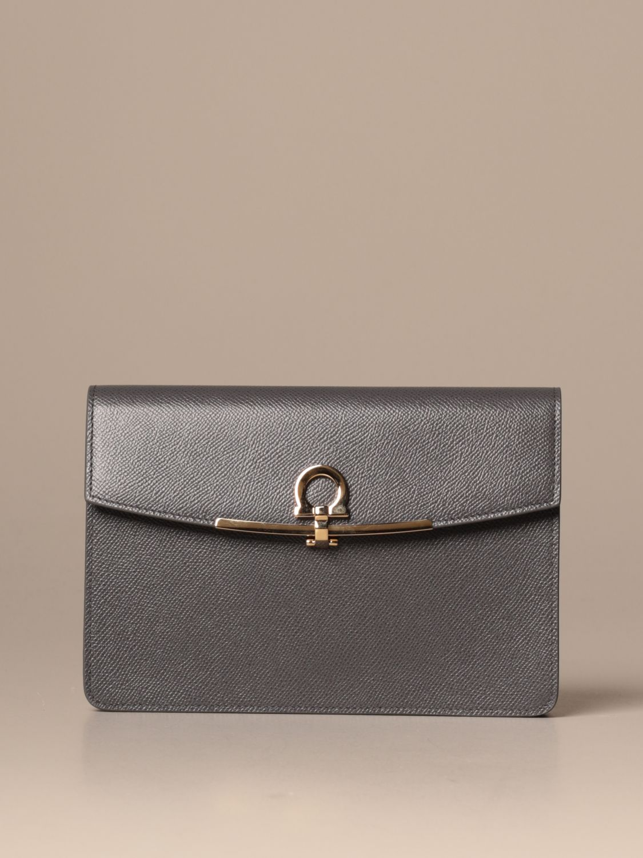 Mini bag Salvatore Ferragamo: Mini bag women Salvatore Ferragamo grey 1