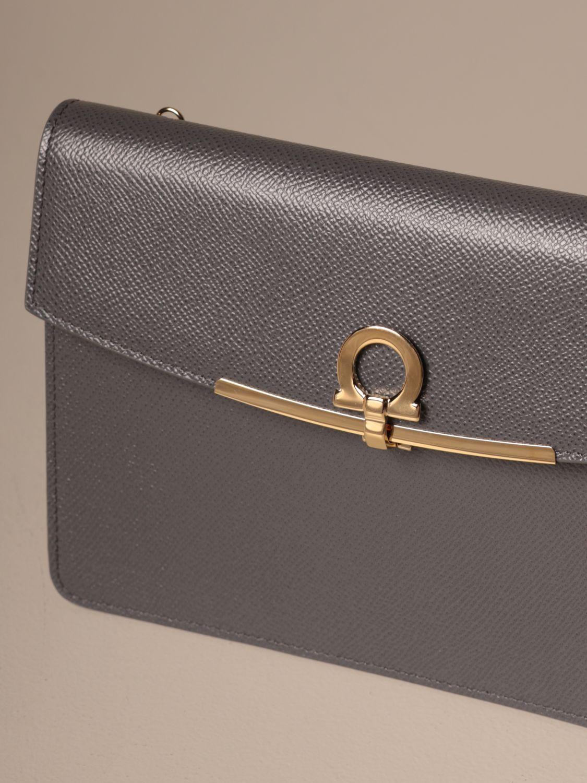 Mini bag Salvatore Ferragamo: Mini bag women Salvatore Ferragamo grey 4