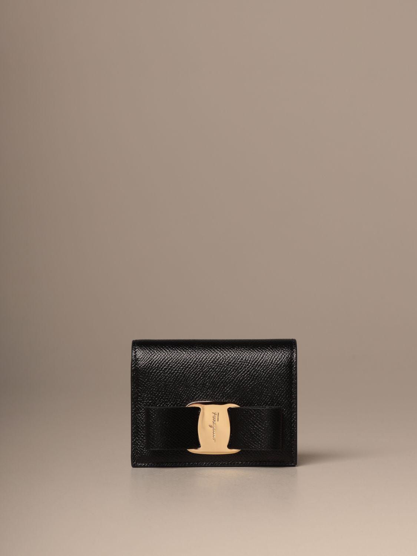 Wallet Salvatore Ferragamo: Wallet women Salvatore Ferragamo black 1