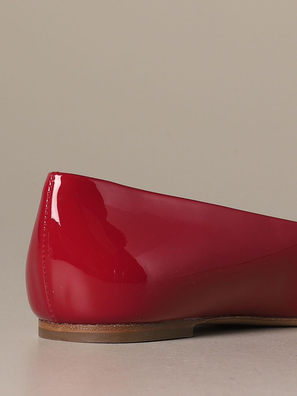 Manoletinas Salvatore Ferragamo: Zapatos mujer Salvatore Ferragamo rojo 3
